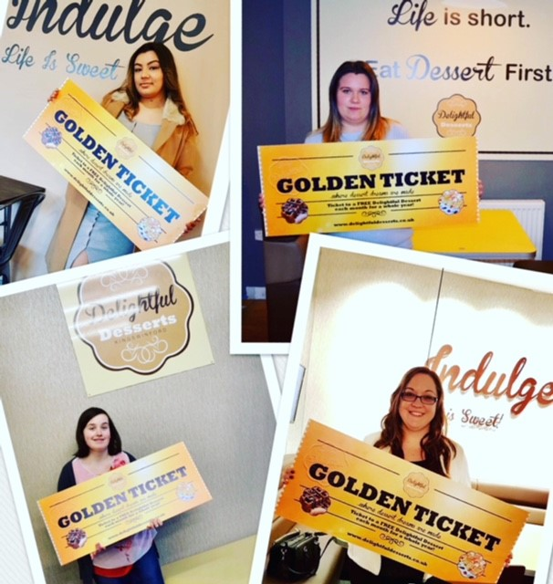 The Golden Ticket 2018 winners!