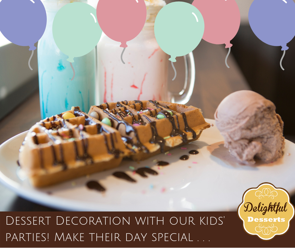 Kids Parties Delightful Desserts Celebrations In Stores