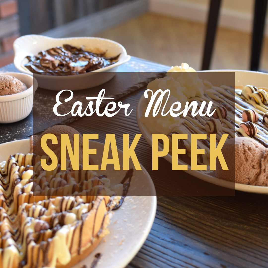 Easter menu sneak peek