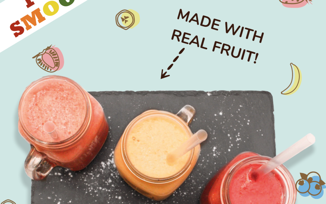 Smoothies in June at 10% off!