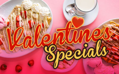 Valentines Specials! You'll get that Loving Feeling!