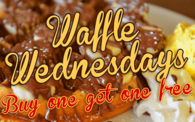 Waffle Wednesdays – Buy One Get One Free