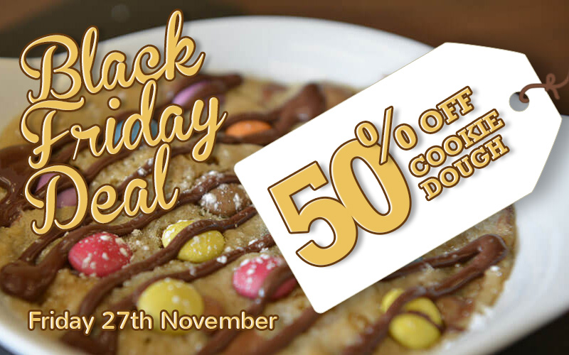50% Off Cookie Dough